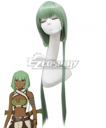 RWBY Emerald Sustrai Green Cosplay Wig
