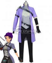 RWBY The leader of Team NDGO Nebula Violette Cosplay Costume