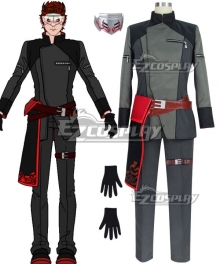 RWBY Volume 5 The White Fang Adam Taurus Cosplay Costume
