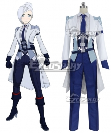 RWBY Volume 7 Winter Schnee Specialist Ice Queen Cosplay Costume