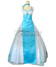 Sailor Moon Ami Mizuno Sailor Mercury Princess Dress Cosplay Costume