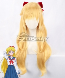 Sailor Moon Minako Aino Sailor Venus Golden Cosplay Wig - Only Wig