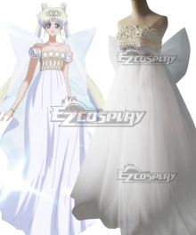 Sailor Moon Usagi Tsukino Princess Serenity Wedding Dress Cosplay Costume