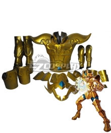 Saint Seiya Aioria Saint Cloth Cosplay Costume