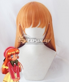Saint Tail Kaitou Saint Tail Meimi Haneoka School Uniforms Orange Cosplay Wig