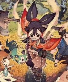 Sakuna: Of Rice and Ruin Sakuna Fight Cosplay Costume