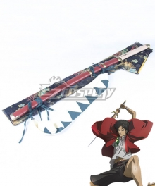 Samurai Champloo Mugen Sword Cosplay Weapon Prop