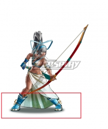 Samurai Shodown Mina Majikina Blue Cosplay Shoes