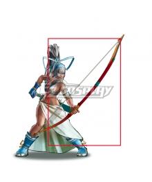 Samurai Shodown Mina Majikina Bow Arrow Cosplay Weapon Prop
