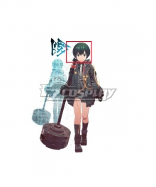 Scarlet Nexus  Luka Travers Green Cosplay Wig