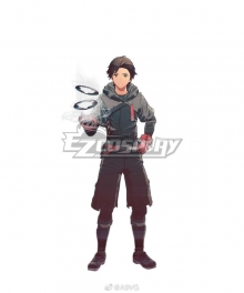 Scarlet Nexus Nagi Karman Cosplay Costume