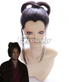 Sekiro: Shadows Die Twice Emma the Gentle Blade Black Cosplay Wig