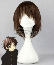 Shakugan no Shana Burning-Eyed Shana Sakai Yuuji Brown Cosplay Wig
