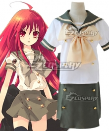 Shakugan no Shana Burning-Eyed Shana Shana Summer Cosplay Costume