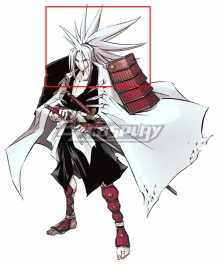 Shaman King Amidamaru White Cosplay Wig