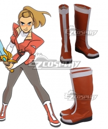 She-Ra And The Princesses Of Power Adora Orange Shoes Cosplay Boots
