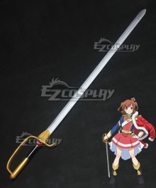 Shoujo Kageki Revue Starlight Karen Aijou Sword Cosplay Weapon Prop