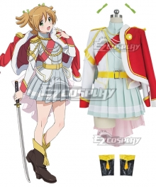 Shoujo Kageki Revue Starlight Nana Daiba Cosplay Costume