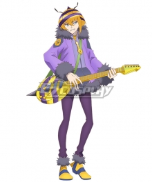 SHOW BY ROCK!! Mashumairesh!! Hacchin Cosplay Costume