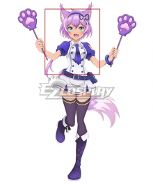 SHOW BY ROCK!! Mashumairesh!! Ruhuyu Purple Cosplay Wig