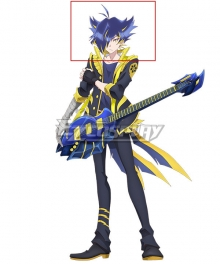 SHOW BY ROCK!! Mashumairesh!! Yasu Blue Cosplay Wig
