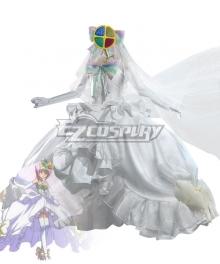 Shugo Chara Hinamori Amu Wedding Dress Cosplay Costume