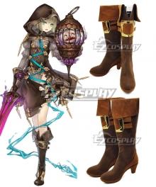 SINoALIC Hansel Gretel Brown Shoes Cosplay Boots