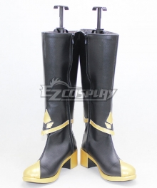 Sky: Children of the Light Season of Rhythm Prairie Dancing Black Shoes Cosplay Boots