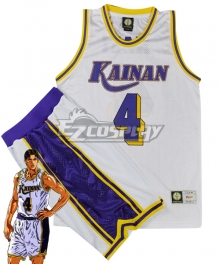 Slam Dunk Shinichi Maki Kainan Cosplay Costume