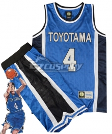Slam Dunk Tsuyoshi Minami Cosplay Costume