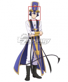 Sleepy Princess In The Demon Castle Demon Cleric Black Cosplay Wig