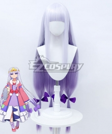 Sleepy Princess In The Demon Castle Princess Syalis Silver White Cosplay Wig