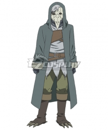 Somali and the Forest Spirit Haitora Cosplay Costume