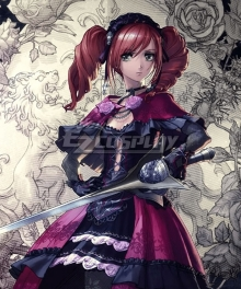 Soul Calibur VI Amy Winter Rose Cosplay Costume