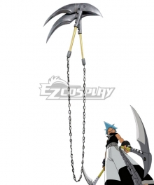 Soul Eater Black Star Sickle Cosplay Weapon Prop