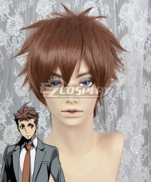 Special Crime Investigation Unit Special 7 Seiji Nanatuiki Brown Cosplay Wig