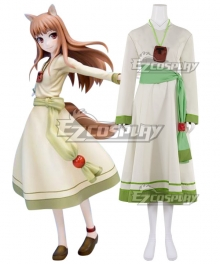 Spice and Wolf Holo White Dress Cosplay Costume