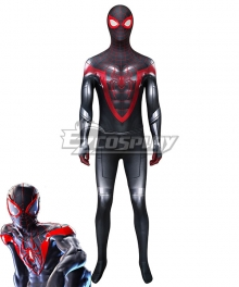 PS5 Marvel 2021 Spider-Man: Miles Morales Zentai Jumpsuit Cosplay Costume