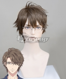 Stand My Hero Piece of Truth Asagiri Tsukasa Brown Cosplay Wig
