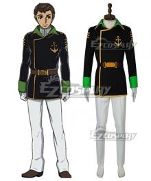 Star Blazers: Space Battleship Yamato 2202 Daisuke Shima Cosplay Costume