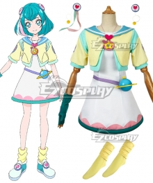 Star Twinkle PreCure Cure Milky Hagoromo Lala Daily Clothing Cosplay Costume