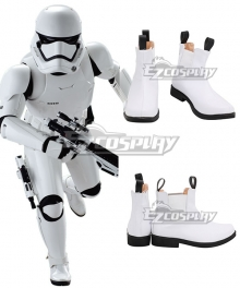 Star Wars Stormtroopers White Cosplay Shoes