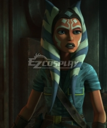 Star Wars Ahsoka Tano Short Cosplay Costume
