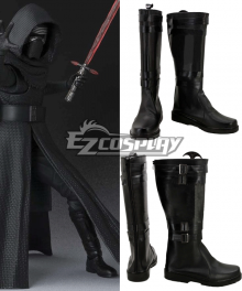 Star Wars VII The Force Awakens Kylo Ren Shoes Cosplay Boots