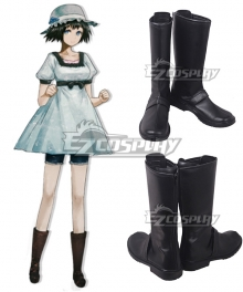 Steins;Gate Steins Gate Mayuri Shiina Brown Shoes Cosplay Boots