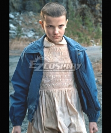 Stranger Things Eleven Halloween Cosplay Costume