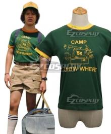 Stranger Things Season 3 Dustin Top Cosplay Costume