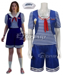 Stranger Things Season 3 Scoops Ahoy Robin Cosplay Costume