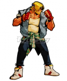 Streets Of Rage 4 Axel Stone Cosplay Costume
