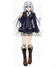 Strike the Blood Fourth La Folia Rihavein Cosplay Costume